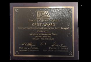 Crest Award 2014