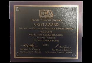 Crest Award 2015